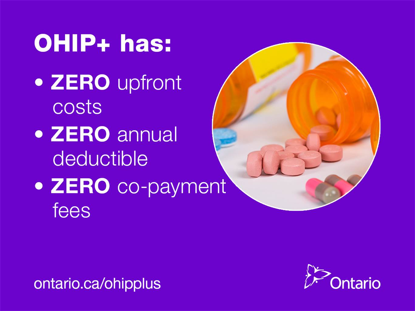 OHIP+ Children and Youth Pharmacare